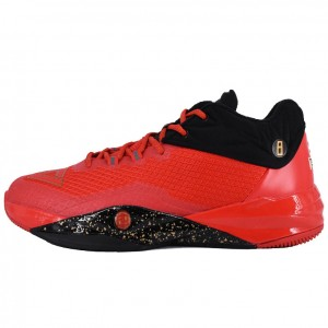 Peak Dwight Howard II Mens Basketball Low Red Shoes
