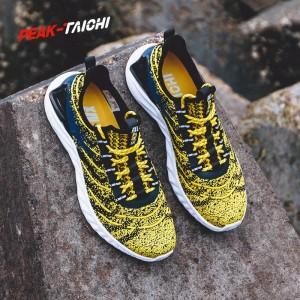 """PEAK 2019 Spring New PEAK-""""TAICHI"""" Smart Running Shoes - Yellow"""
