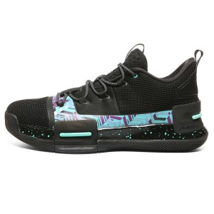 PEAK 2019 Lou Williams UNDERGROUND PEAK Taichi Basketball Shoes - Black/Green