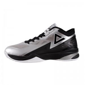 Peak Lightning II Professional Basketball Shoes - Black/Silver